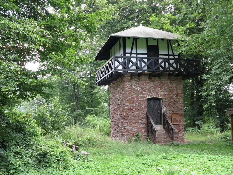 Limes- Turm bei Oberbieber