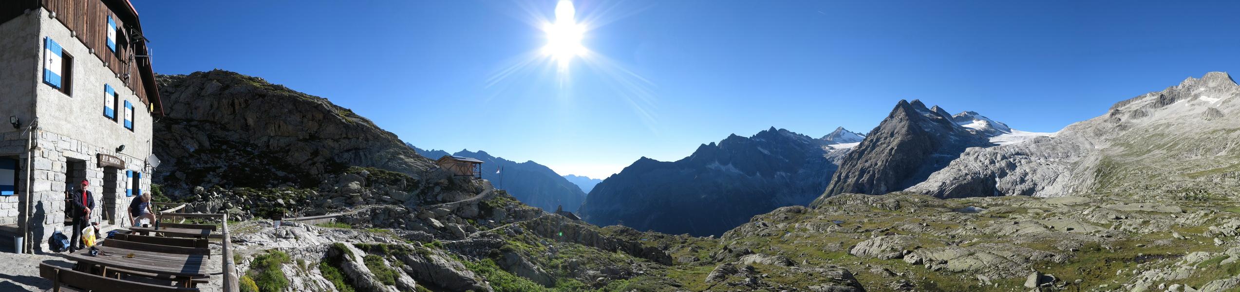 Mandrone Hütte 2450m