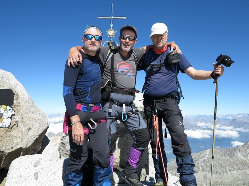 Adamello Summit 3539m