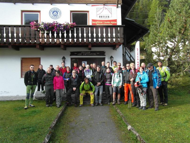 Teilnehmer der Ortlerwoche 2014