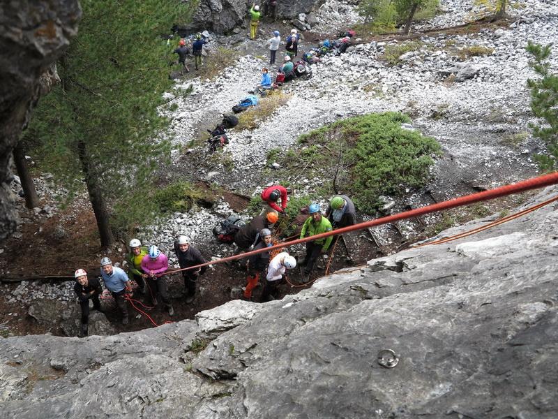 Im K2- Klettergarten