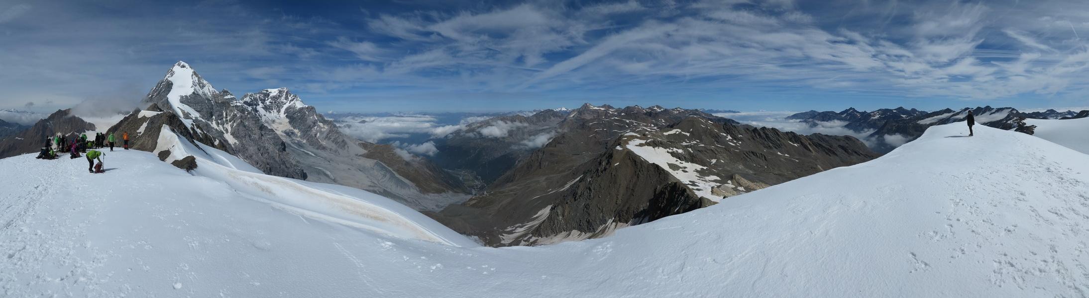 Panorama von der Suldenspitze