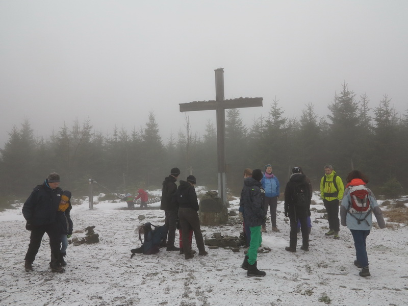 Langenberg- Am Gipfel