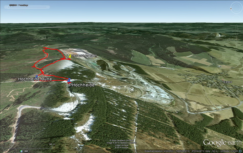 Hochheide und Diabas- Tagebau