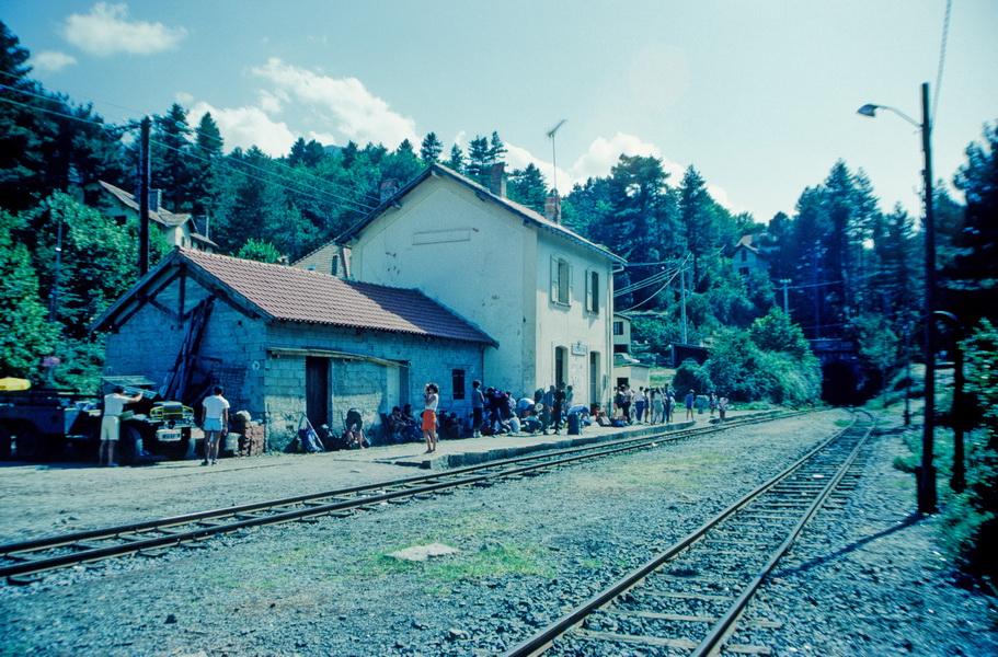 Bahnhof Vizzavona 1986