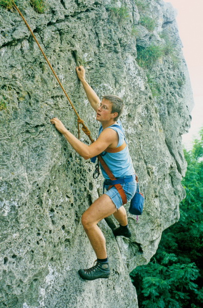 80er Jahre- Klettern Ith