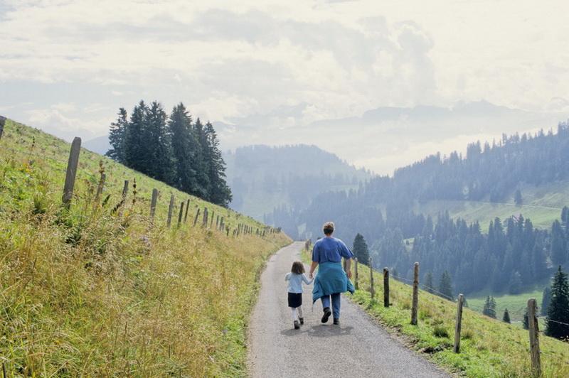2002 Unterwegs am Rigi Schweiz