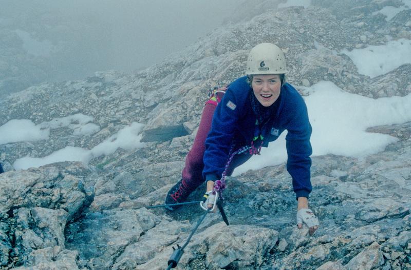 1990 Civetta Alleghesi- Klettersteig