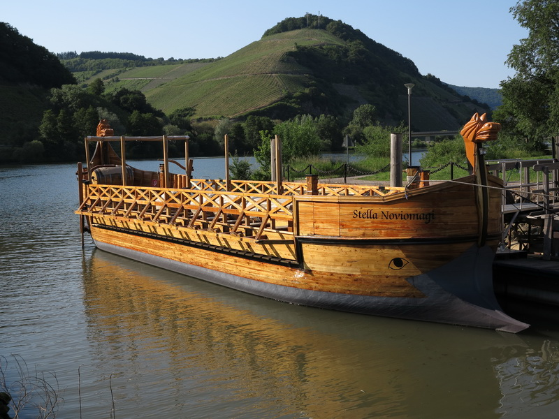 Römerschiff in Novimagus Treverorum