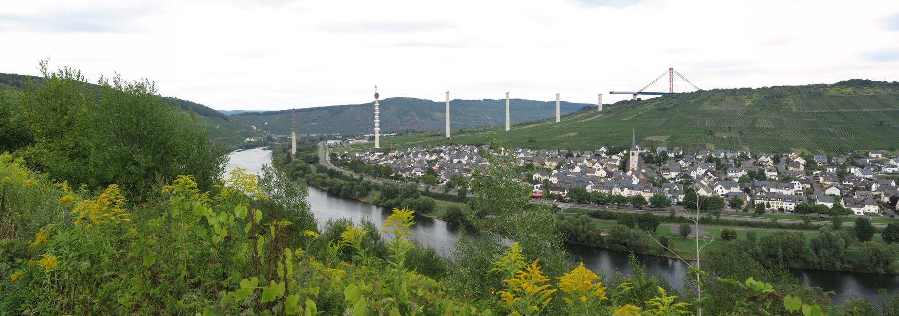 Moseltalbrücke im Taktschiebeverfahren