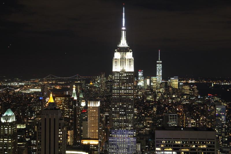 Blick vom Rockefeller Center nach Süden