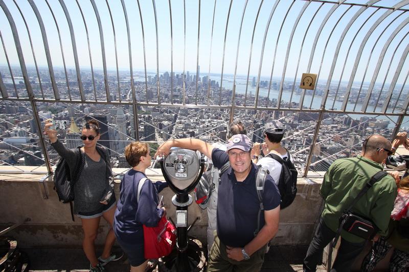 Auf dem Empire State Building