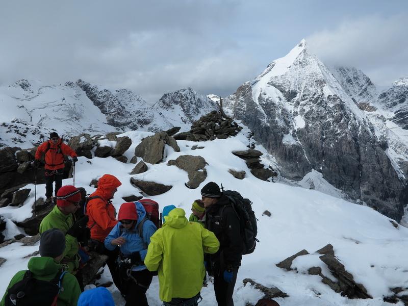 Auf der Eisseespitze 3230m