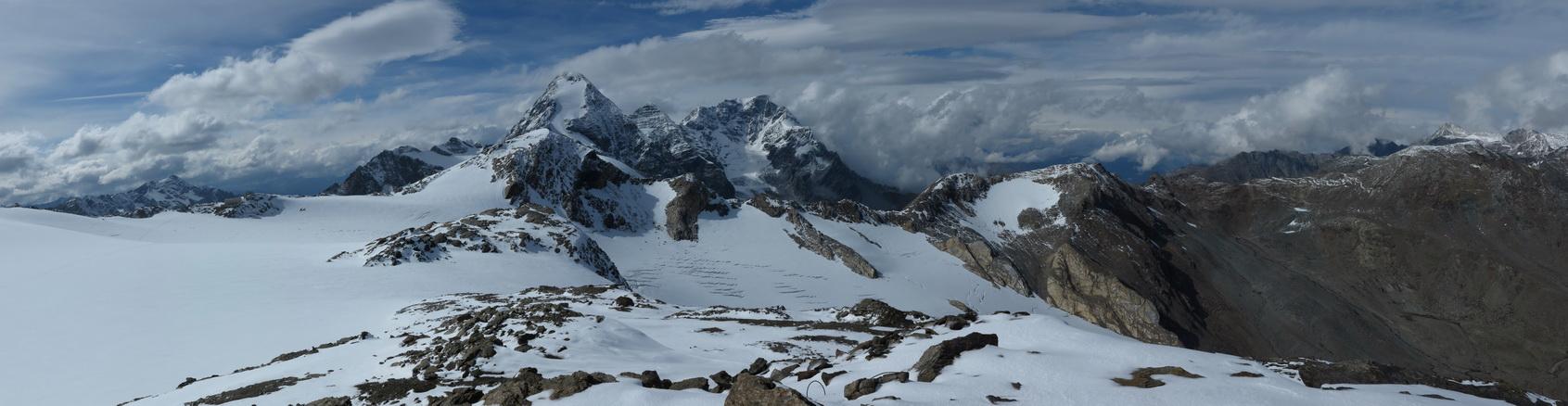 Blick Richtung Casati- Hütte von den 3 Canoni