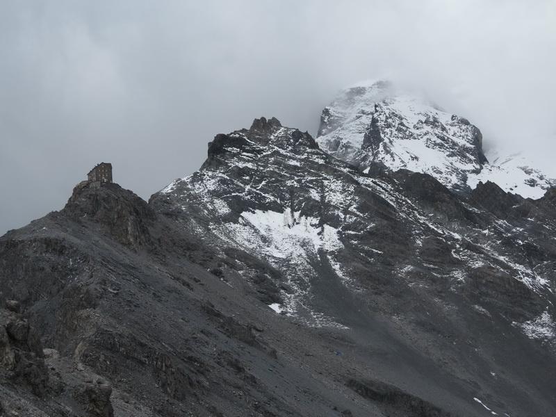 Zustieg zur Julius Payer- Hütte 3029m