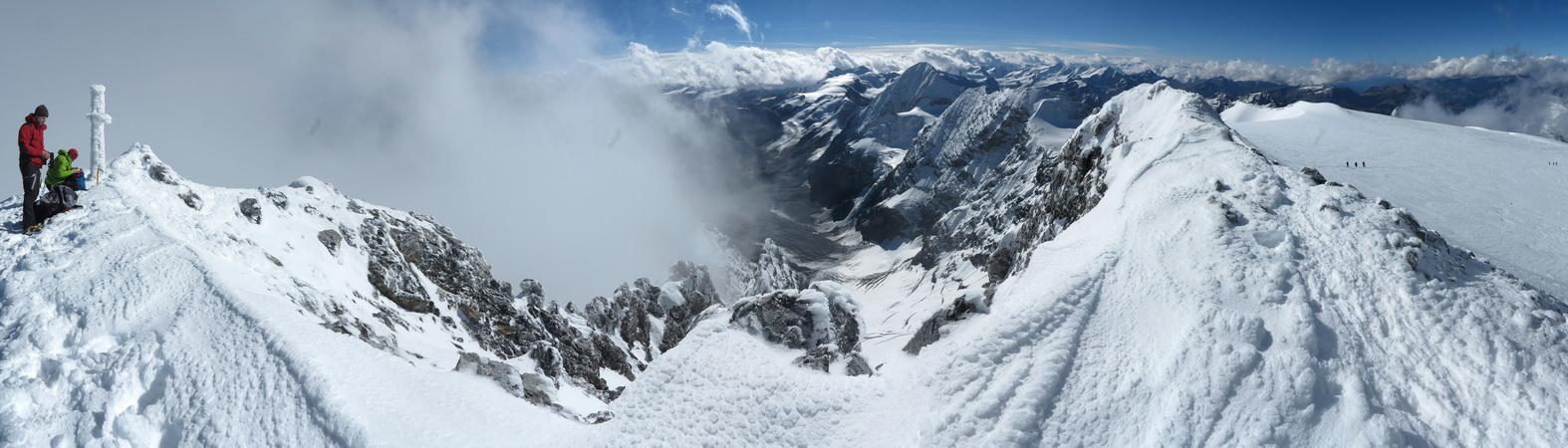 Ortler- Gipfelpanorama