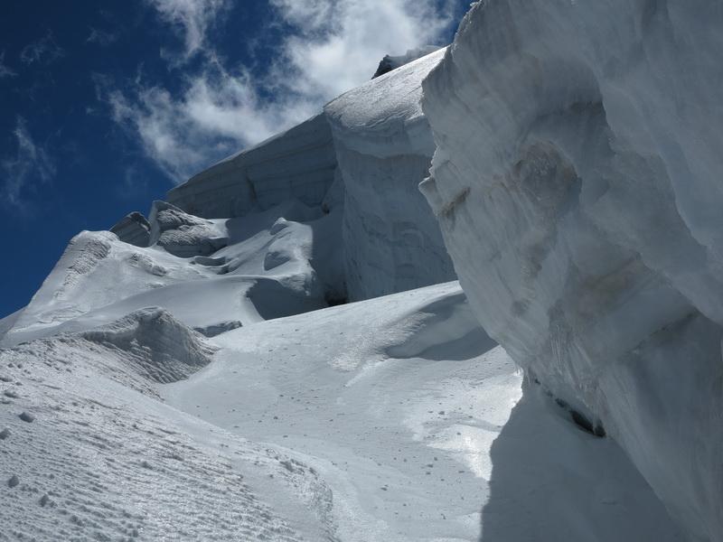 Gletschereis- Ständig in Bewegung