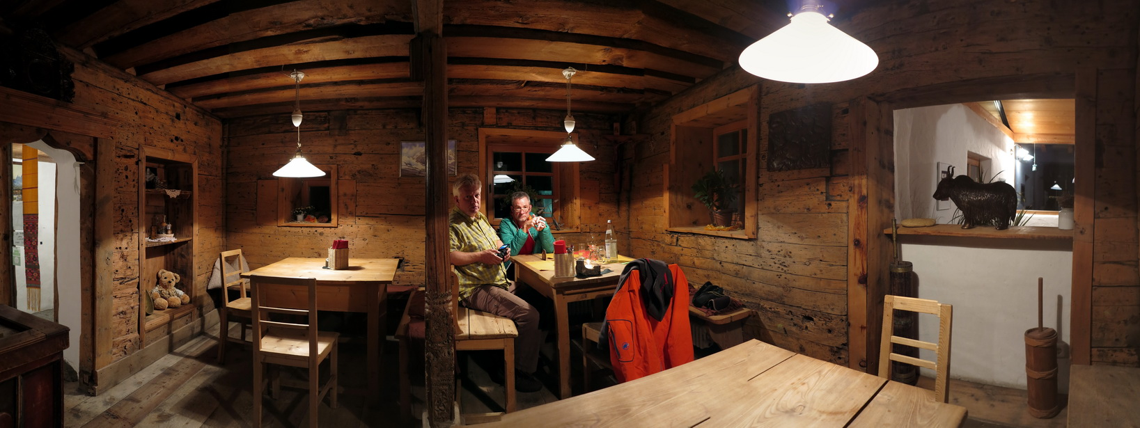 """Messner- Stube im """"Yak & Yeti"""""""