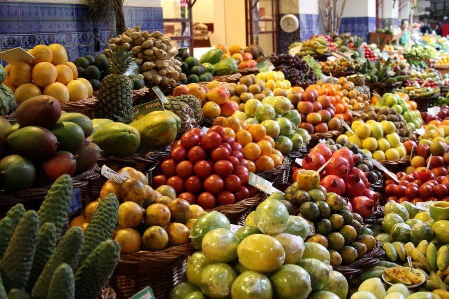 Vielfalt im Mercado dos Lavradores