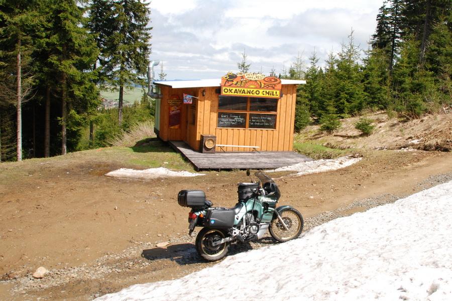 2010-05 Skihütte am Klínovec in Tschechien