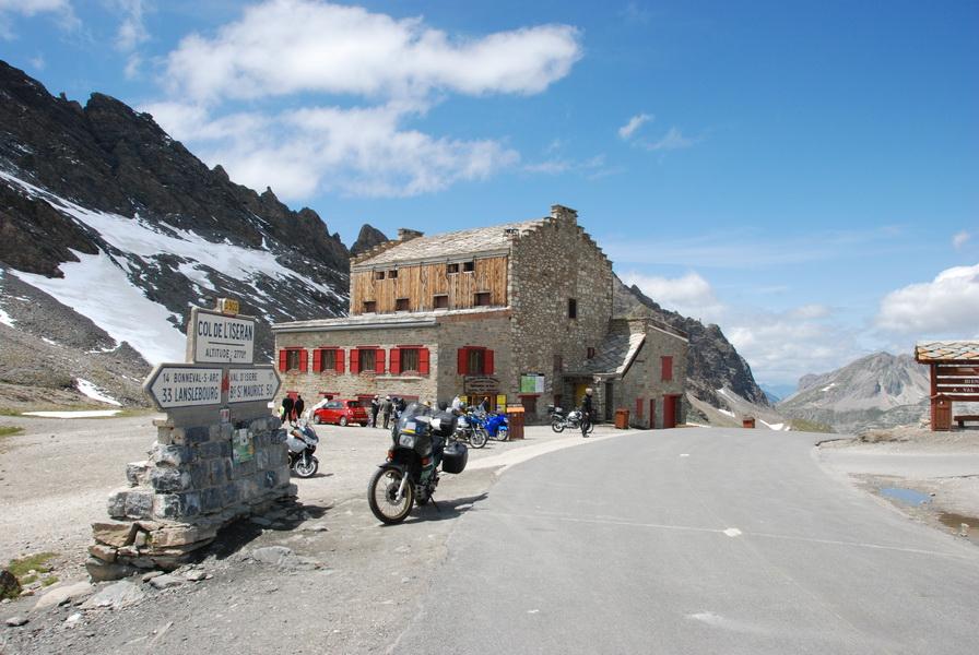 2009-07 Am Col del'Iseran 2770m