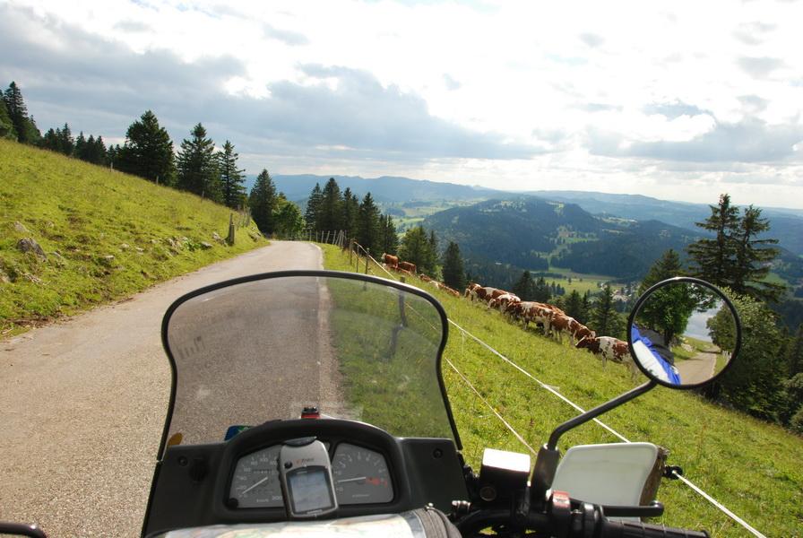 2009-07 Am Col de Chassereal 1502m im Jura