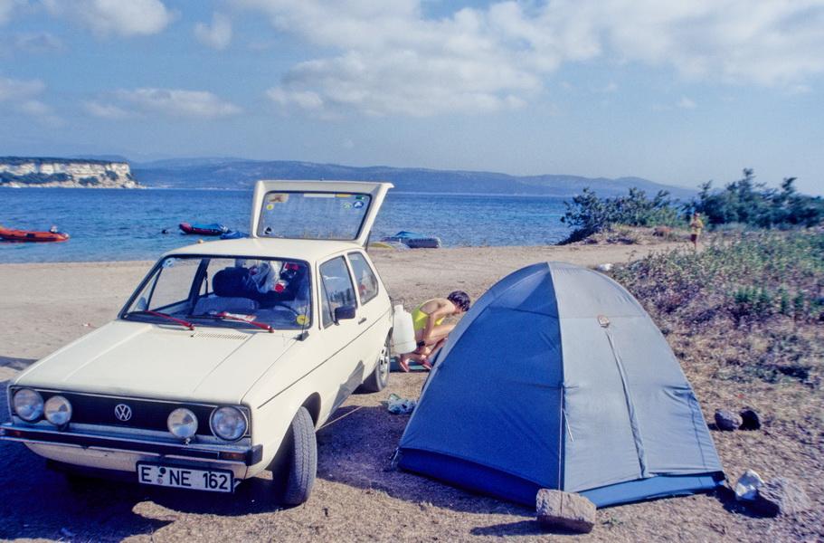 1987-07 Golf I auf Korsika