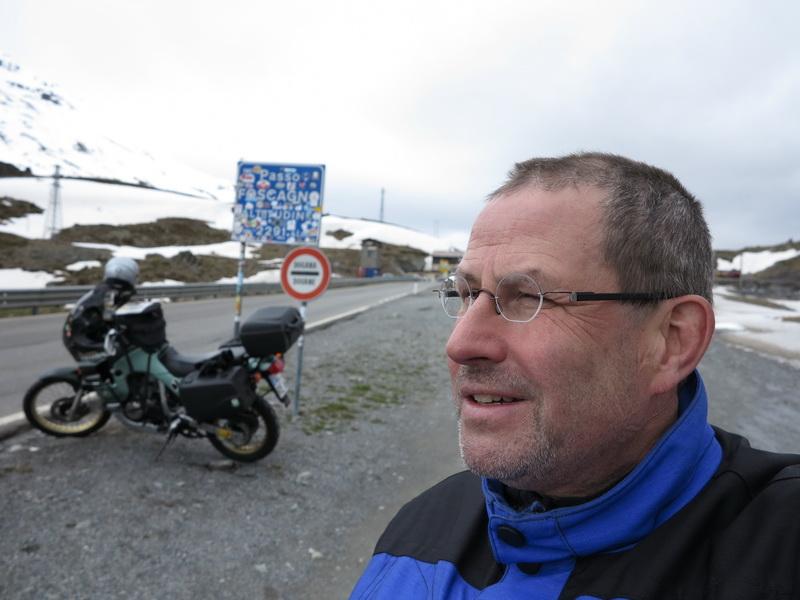 2013-05 Selfie am Passo Foscagno 2291m