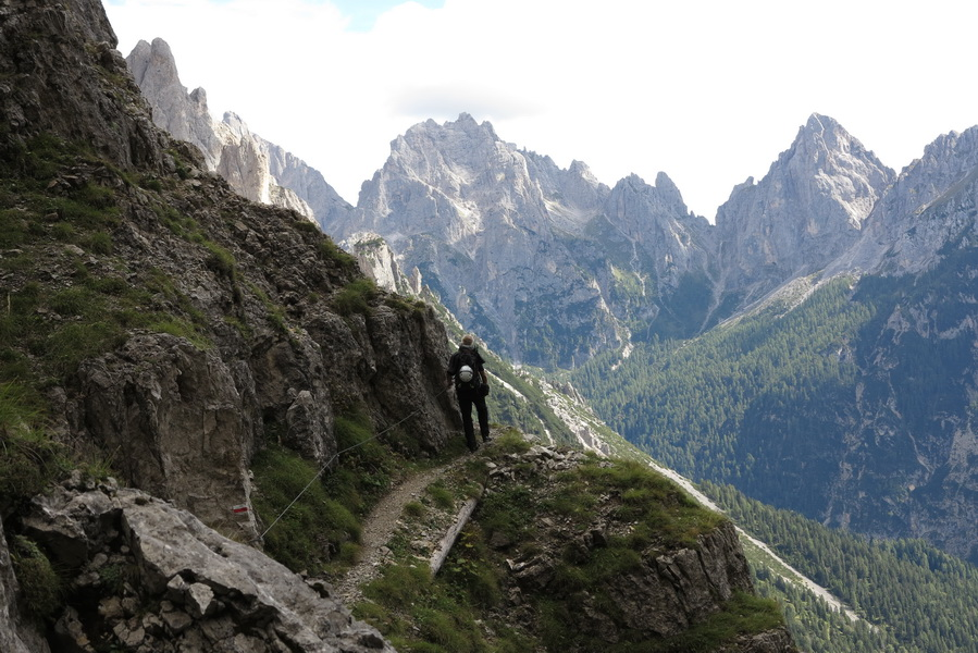 Auf dem Jägersteig- Sentiero del Cacciatore