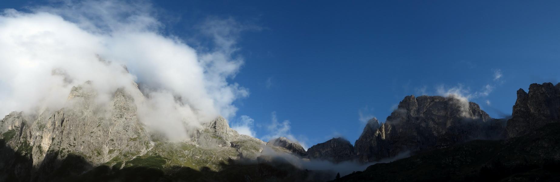 Aufstieg zum Passo di Canali