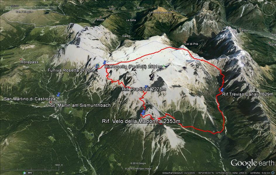 GPS- Track Palaronda