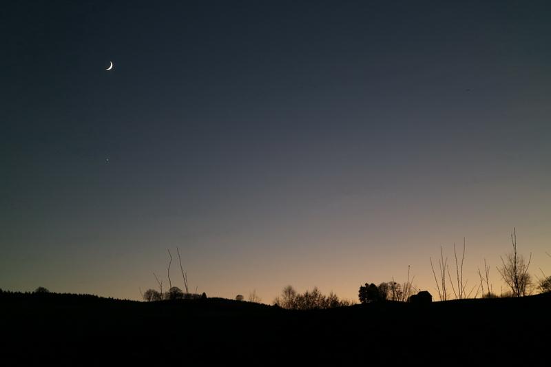 Mond über Bruchhausen