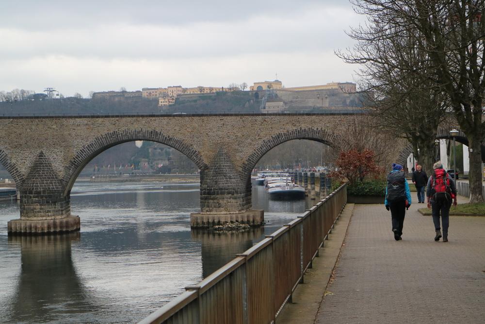 Moselbrücke und Ehrenbreitstein