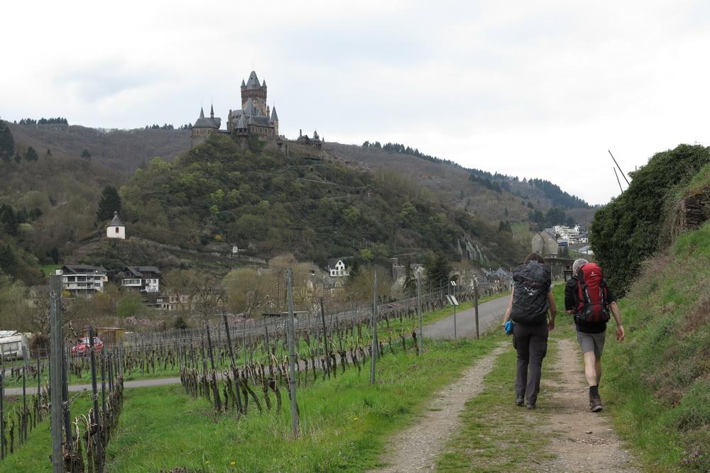 Ankunft in Cochem