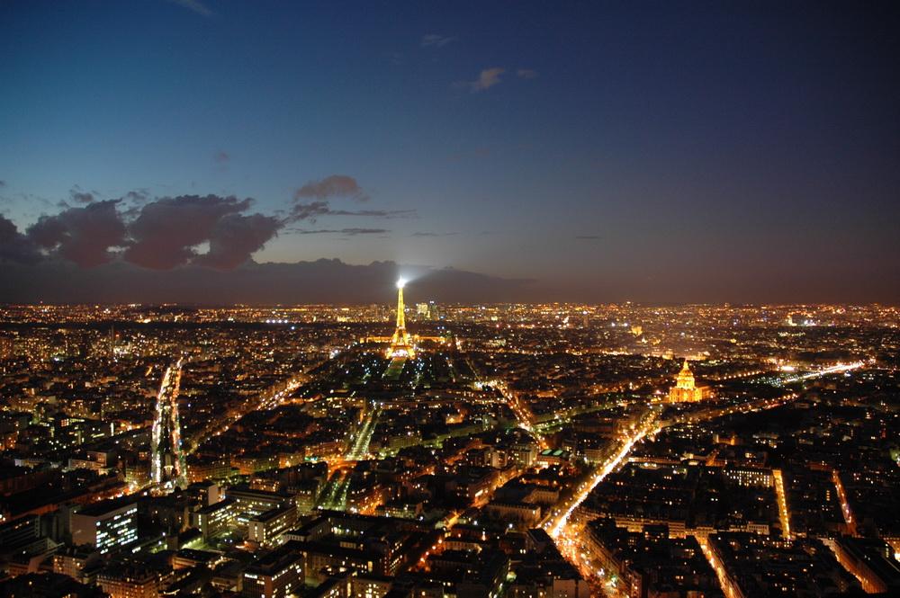 Blick vom Tour Montparnasse (Bild von 2004)