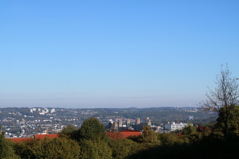 Blick auf Wuppertal von Rigi-Kulm (Cronenberg)