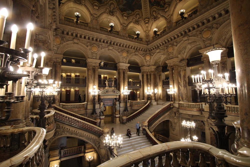Treppenhaus im Palais Garnier