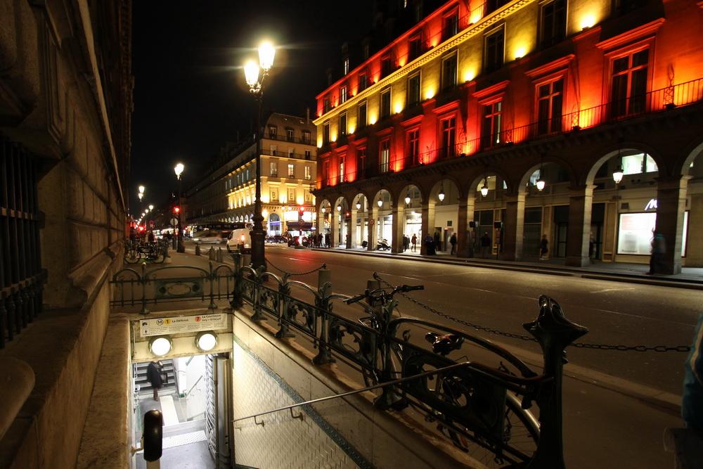 Metrostation Tuileries