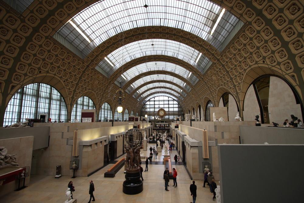 Halle des Musee d'Orsay