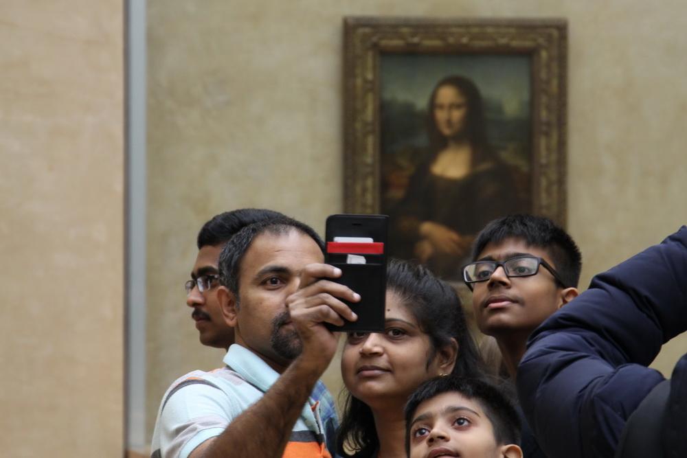 Selfie mit Mona
