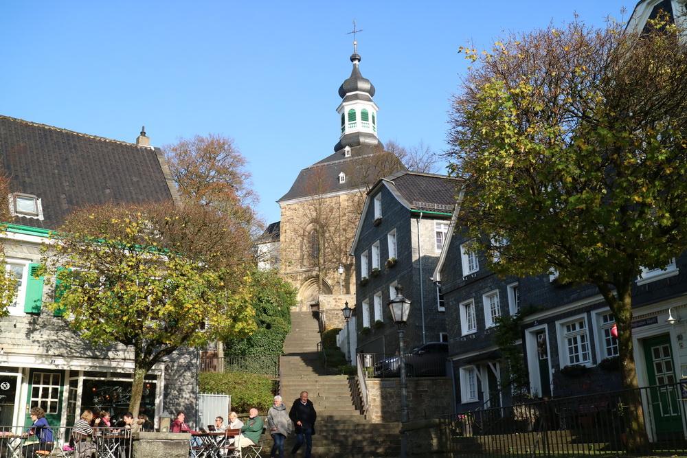 Marktplatz Solingen- Gräfrath