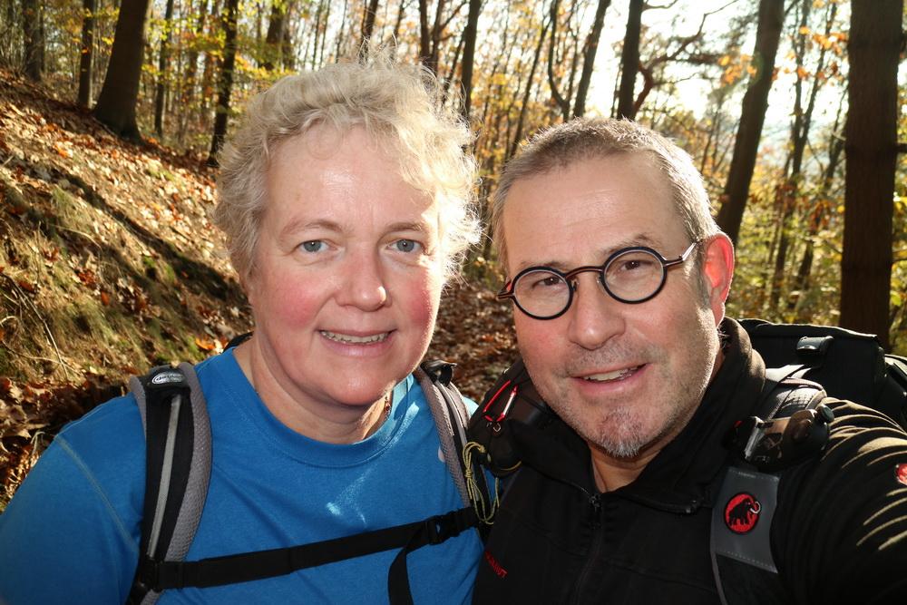 Arnd und Doro- die ersten 70 Kiometer wären geschafft