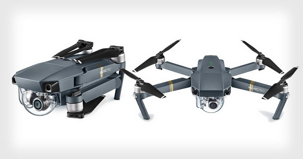 DJI Mavic Pro 4K-Kameradrohne