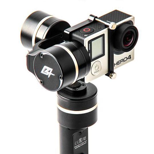 Feiyu- Tech FY-G4 mit GoPro 4
