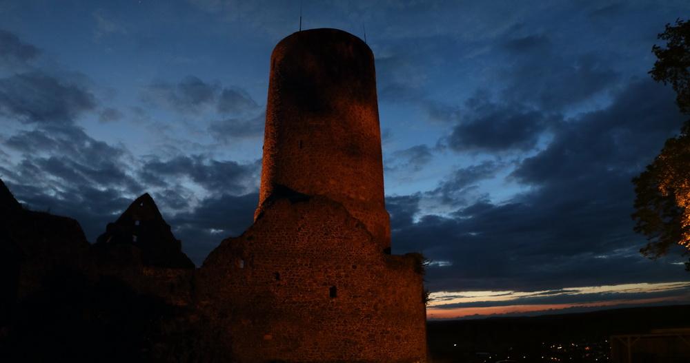 Bergfried Burg Gleiberg