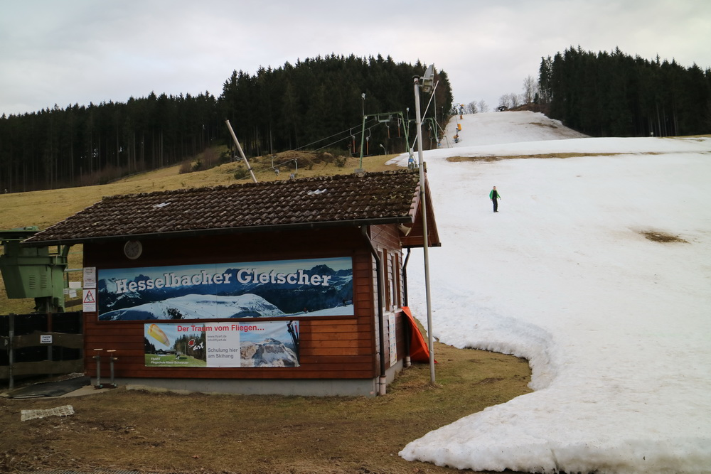 """Der """"Weisse Rausch"""" am Hesselbacher Gletscher"""