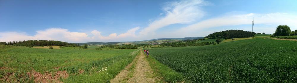Unterwegs nach Marburg