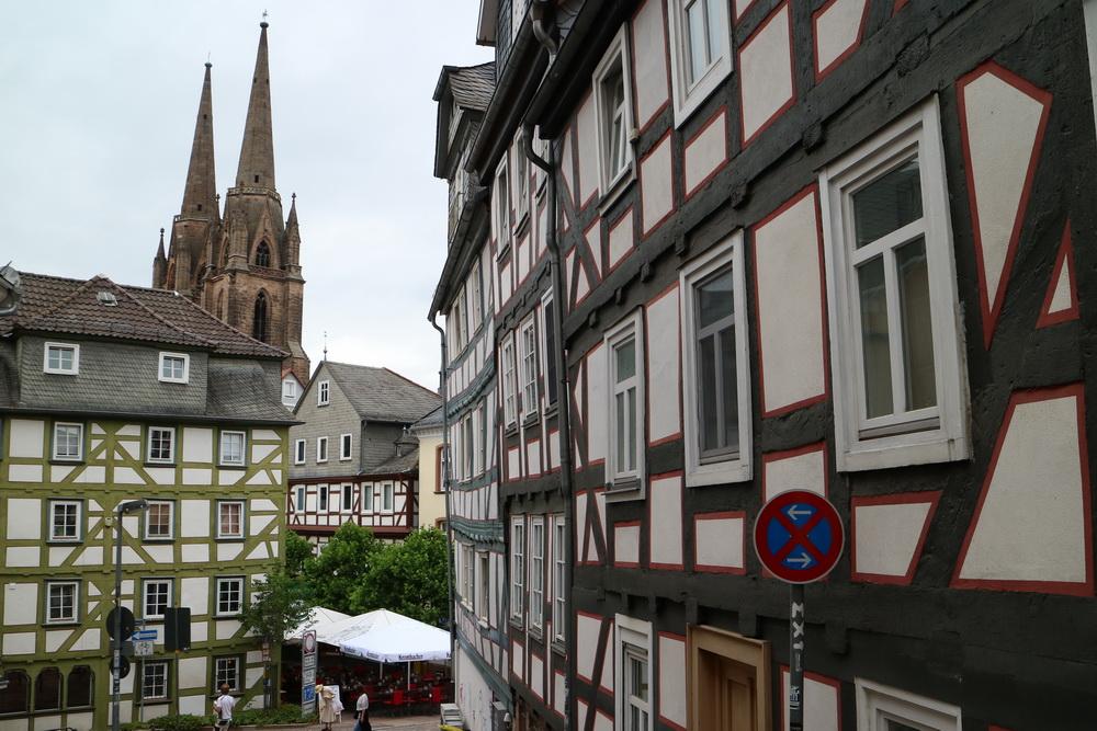 Marburg mit Elisabethkirche