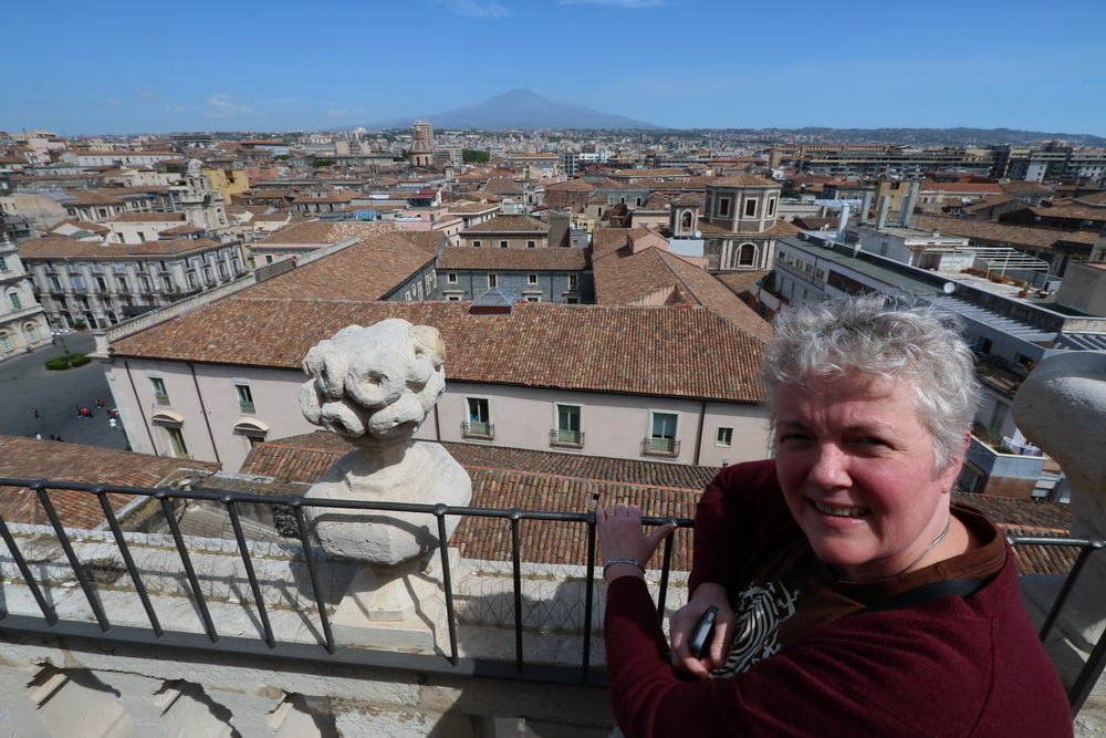 Catania mit Doro und Ätna