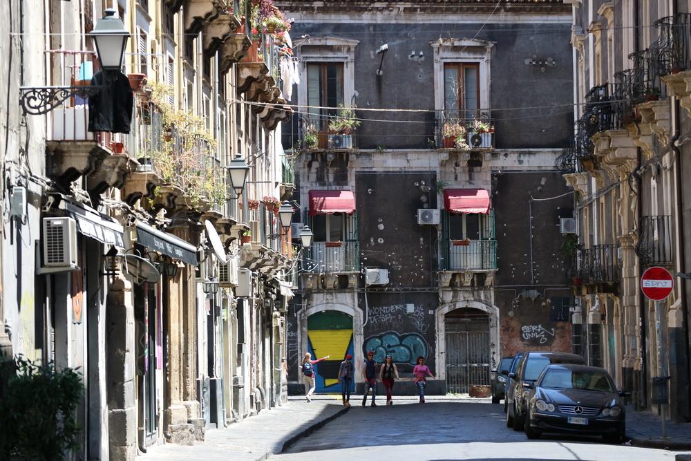 Gasse in Catania